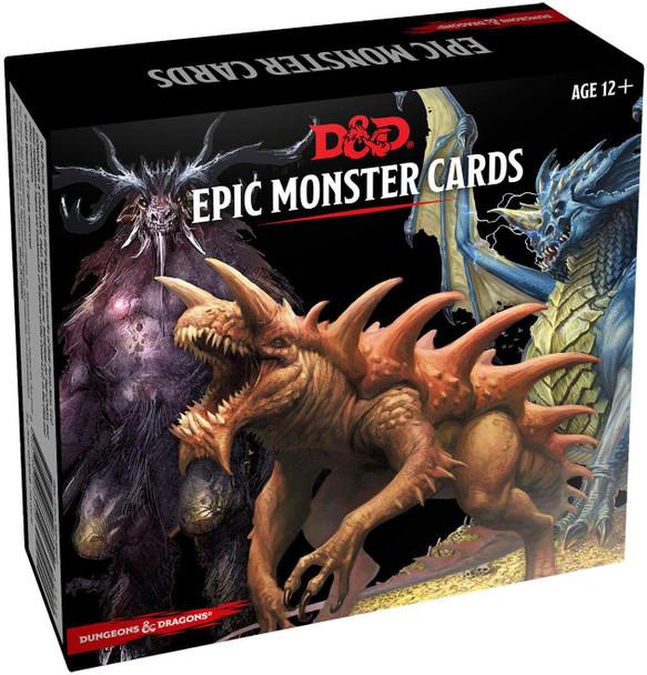 D&D epic monster cards