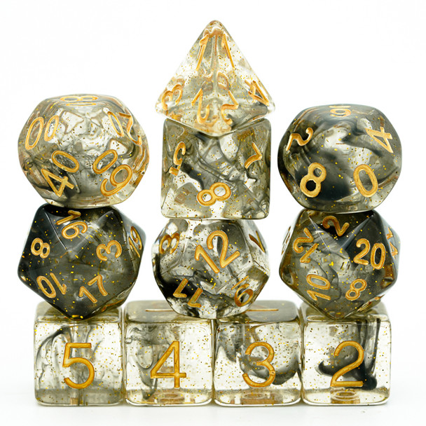 Cauldron Smoke dice set