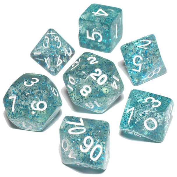 Ethereal Dice Set - Light Blue