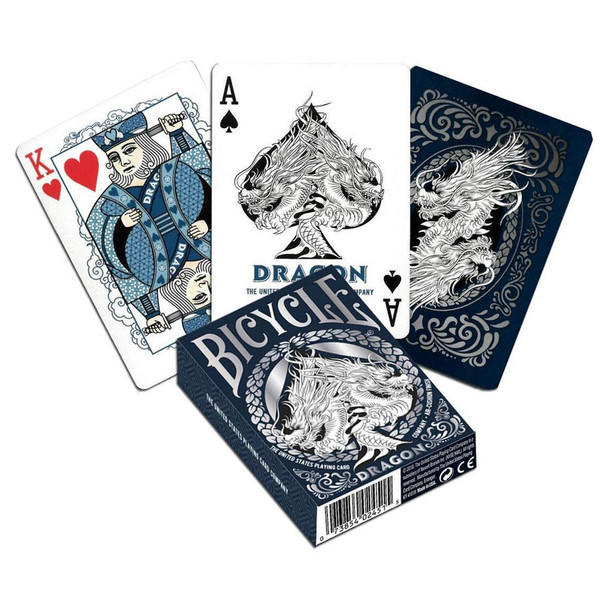 Dragon playing cards - Bicycle brand