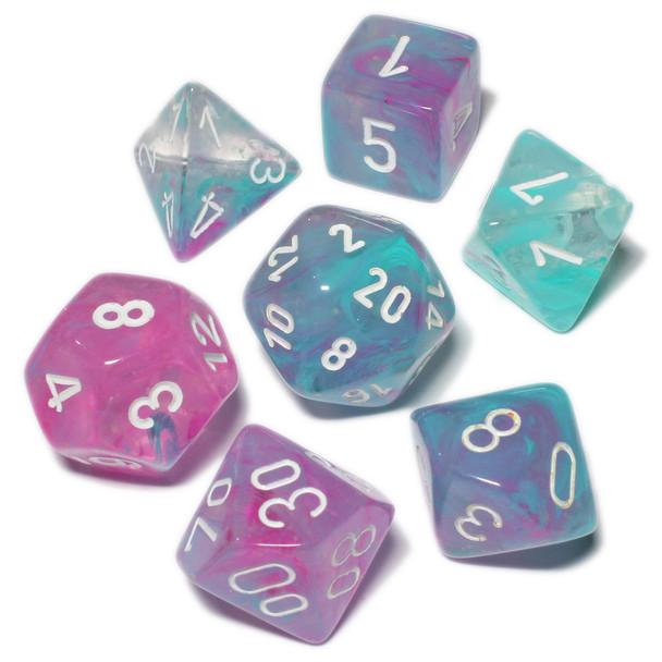 Nebula dice set - Wisteria - D&D dice