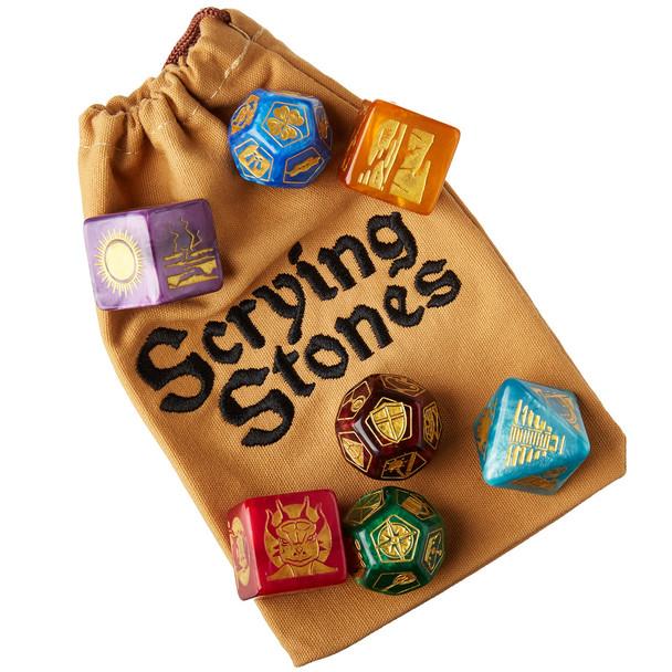 Scrying Stones - Scenario dice for Dungeon Masters