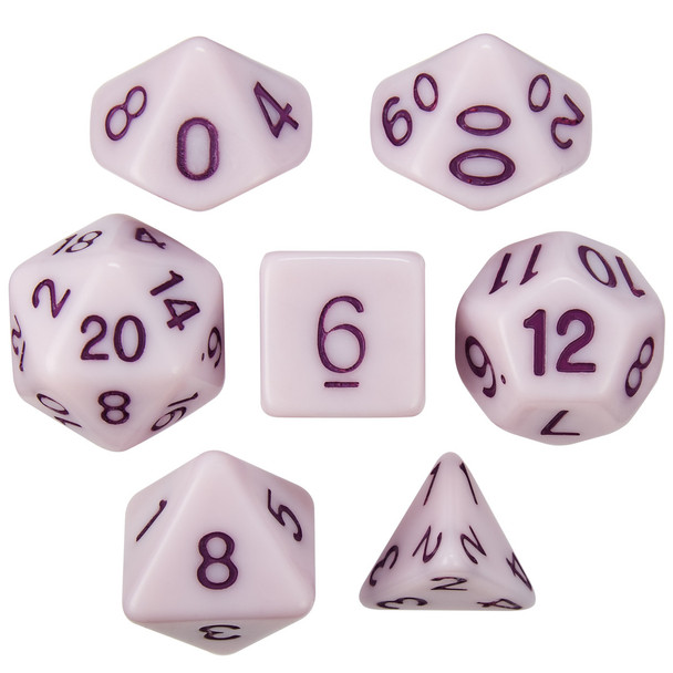 Nightshade Extract dice set for D&D, Pathfinder, etc