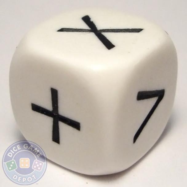 Math dice - 6 operator
