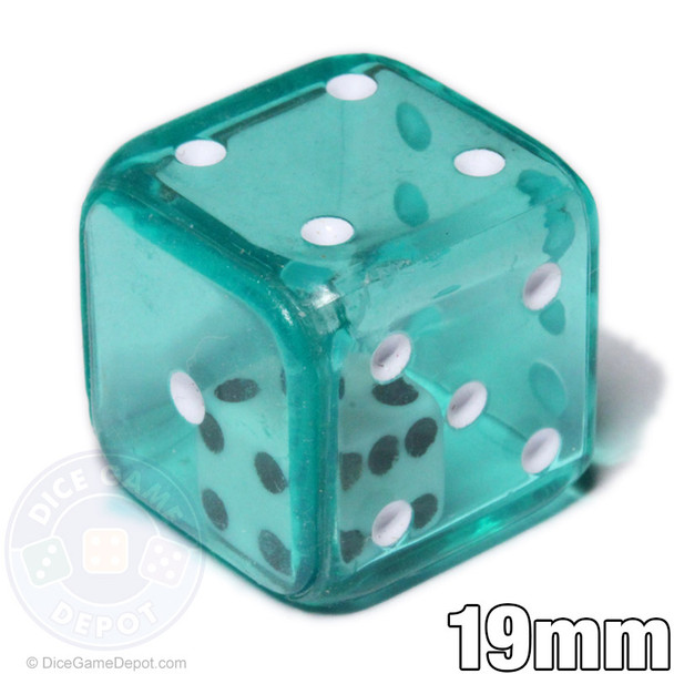 Green double dice