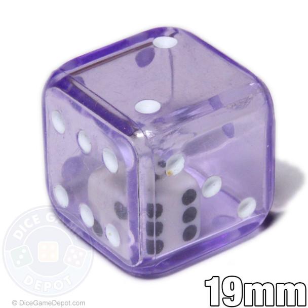 Purple double dice