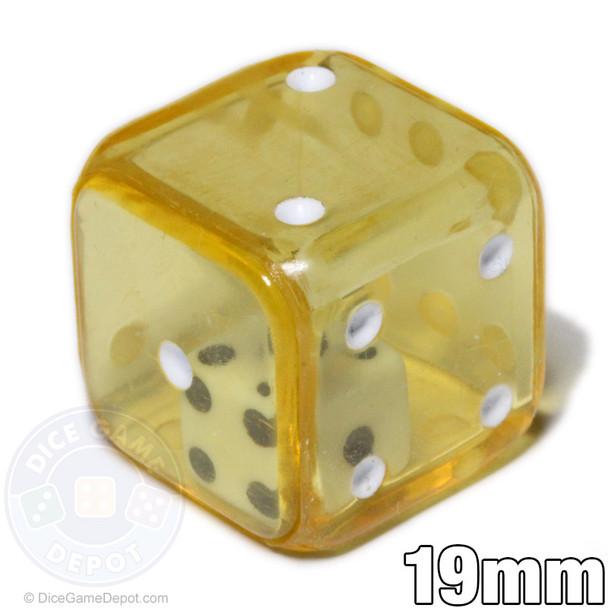 Yellow double dice