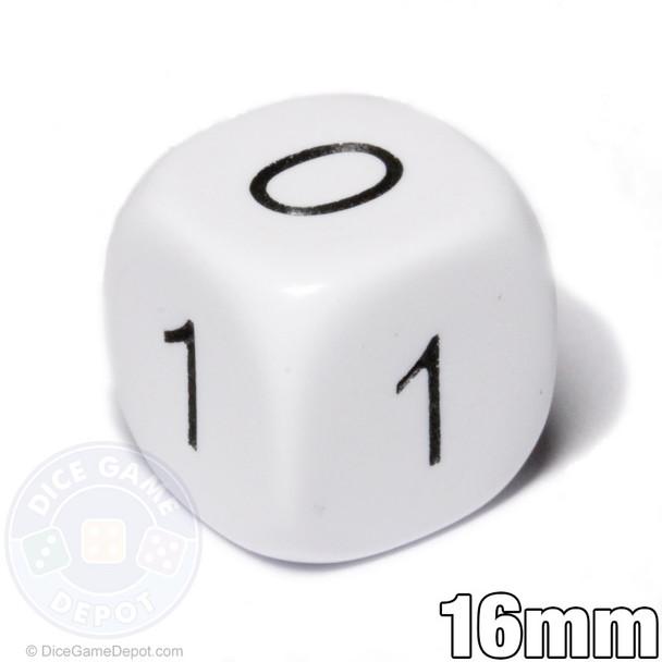 Math dice - 0-1
