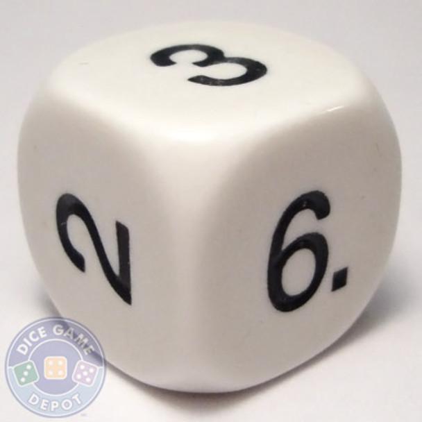 Math numeral dice - 1-6