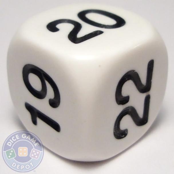Math dice - 19-24