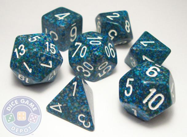 Elemental Sea dice set