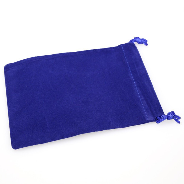 Small blue dice bag