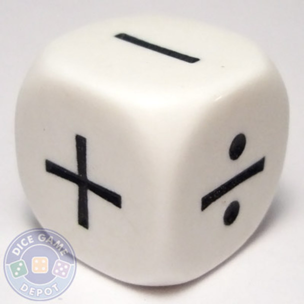 4-operator math dice