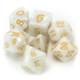 Pearlized Polyhedral Dice Set - Forbidden Treasure