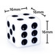 Opaque Dice - Set of 100 White d6s
