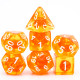 Orange Zest dice set