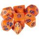 Kingfisher dice set for D&D, Pathfinder, etc.