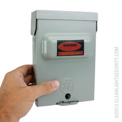 Electrical Box Camera In Hand