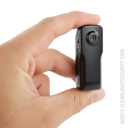 Mini Spy Camera in Hand