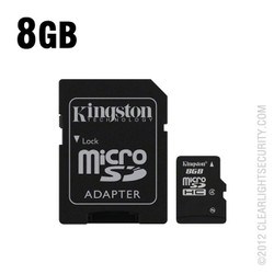 8GB Micro SD Card with SD Card Adapter