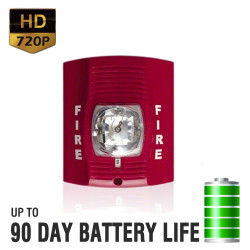 720P HD Fire Alarm Hidden Camera