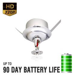 720P HD Sprinkler Hidden Camera