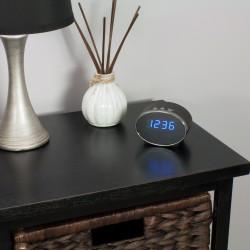 Hidden Clock Camera on Table