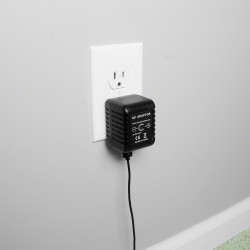 Wall Charger Spy Camera in Use