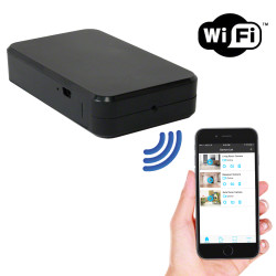 1080P HD WiFi Streaming Black Box Hidden Camera