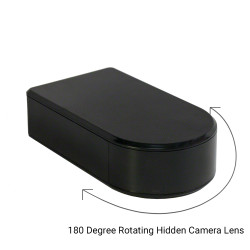 180 Degree Rotating Hidden Camera Lens