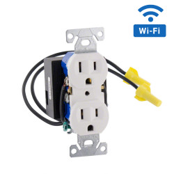 WiFi Streaming Outlet Hidden Camera