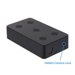 1080P HD Black Box Hidden Camera