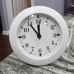 Spy Clock with Desk Stand