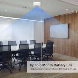 Up to 6 Months Battery Life