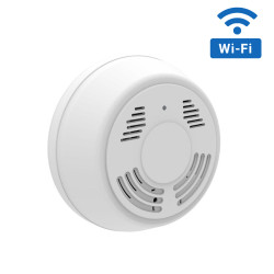 WiFi Streaming Smoke Detector Hidden Camera