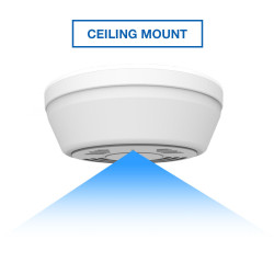 Ceiling Mount Smoke Detector Hidden Camera