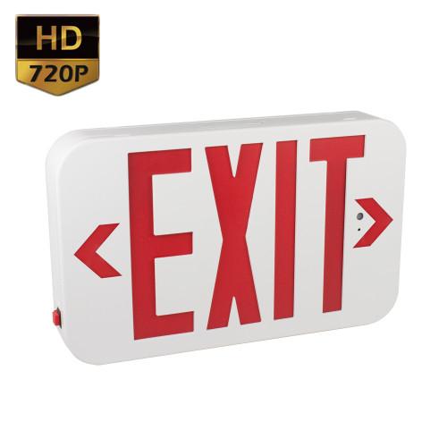720P HD Exit Sign Hidden Camera