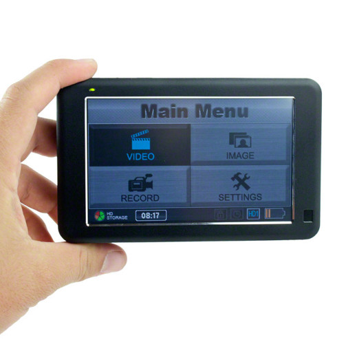 LawMate™ PV-1000 Touch Professional Grade HD Portable DVR with 320GB Hard Drive