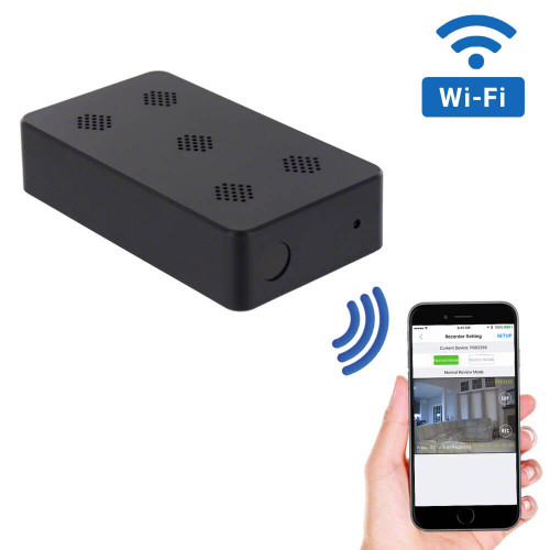 WiFi Black Box Hidden Camera with Night Vision