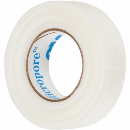 """3M Micropore 1"""" Paper Surgical Tape Single Roll"""