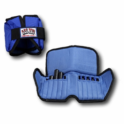 All Pro Adjustable Ankle Weights 5 Lbs, 1 Pair