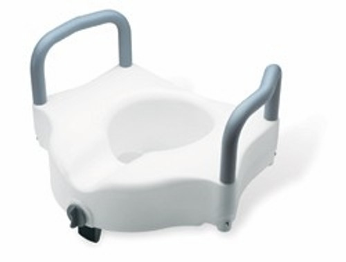 Guardian Elevated Toilet Seat with Handles