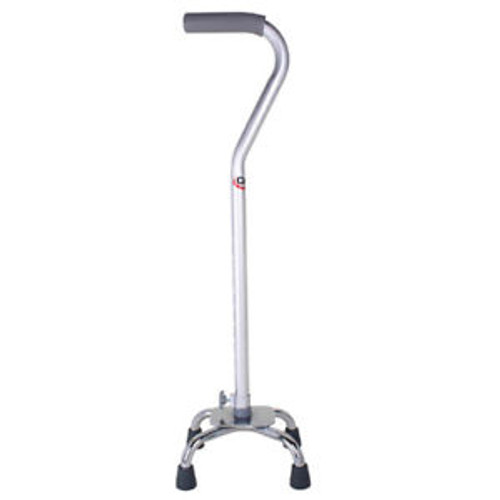 Carex Small Base Quad Cane with Soft Cushioned Handle
