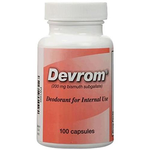 Devrom® Capsules (internal deodorant)