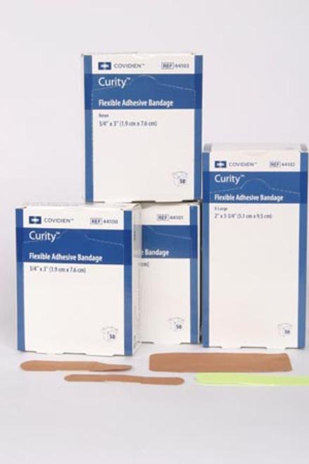 """Fabric Adhesive Bandage, 1"""" x 3"""", 50/bx,"""