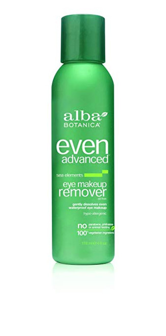 Alba Botanica Sea Elements Advanced Eye Makeup Remover 4 Fl. Oz.