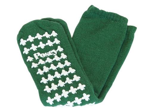 Posey Fall Management non slip socks,Large,Green(1 Pair)