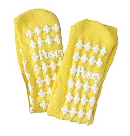 Posey Fall Management non slip socks,Large,Yellow