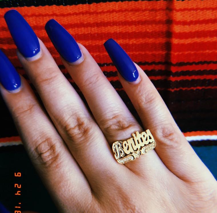 Custom Nameplate Ring