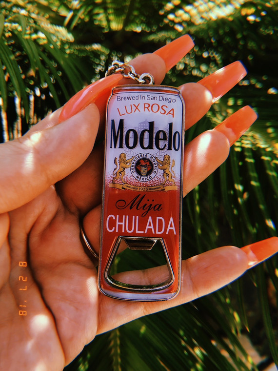 Modelo Chulada Bottle Opener Keychain PRE-ORDER